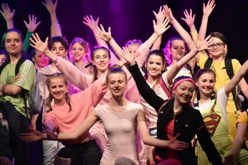 JPTeens in concert, artikel in Nieuwsblad voor Castricum