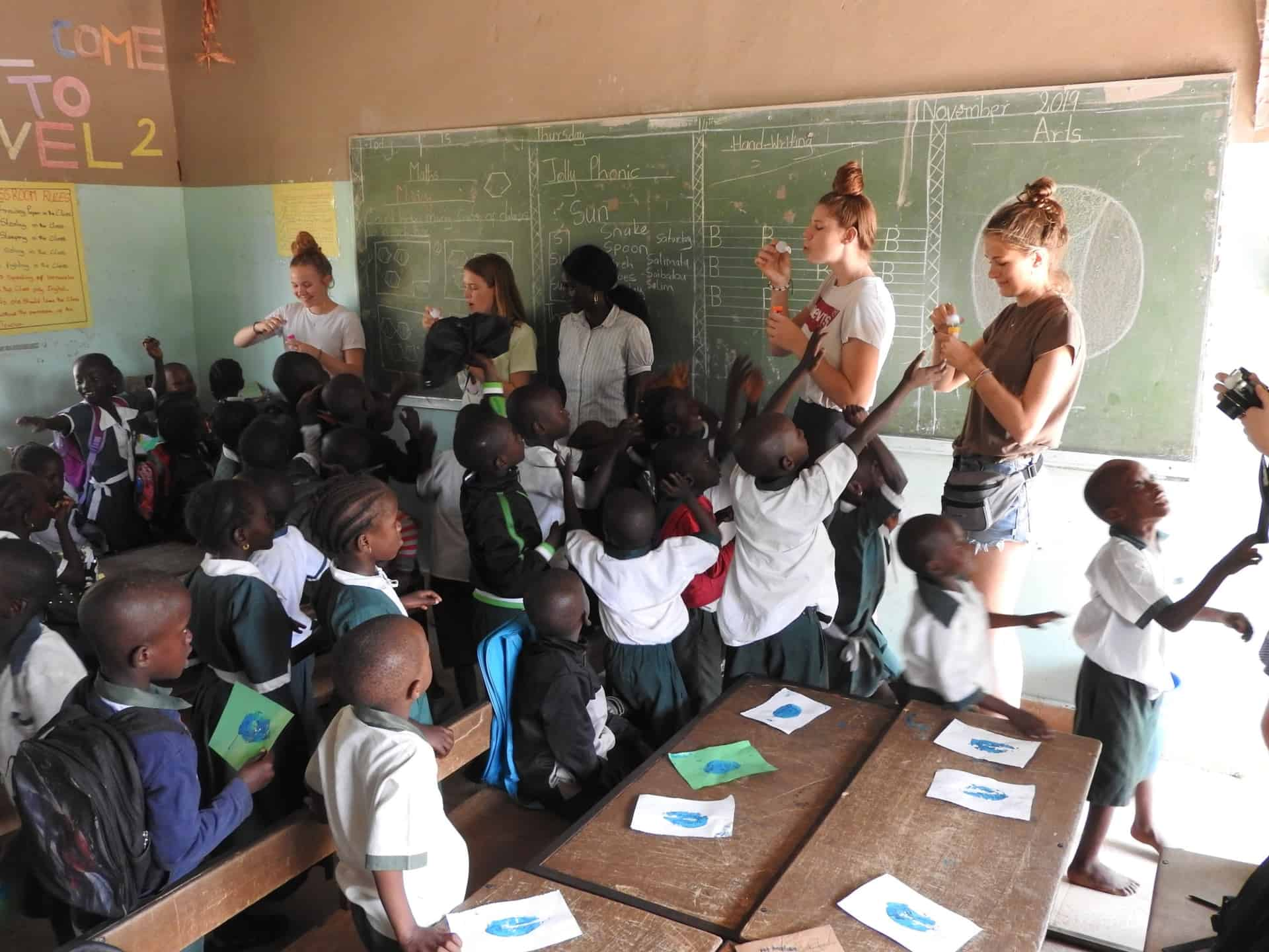 Junior Academy in Gambia