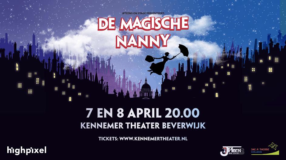 JPTeens presenteert: 'De Magische Nanny'